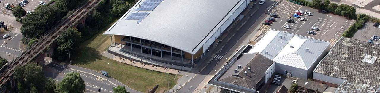 Find Us University Of Worcester Arena
