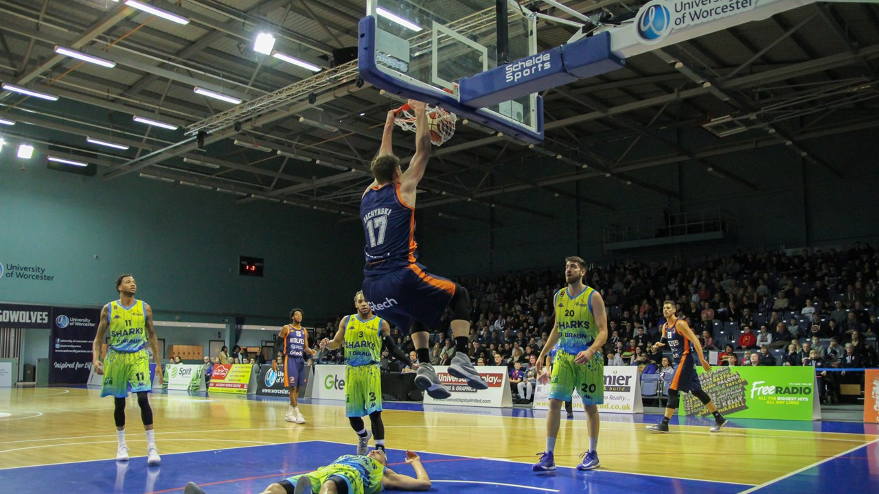 Worcester Wolves vs Sheffield Sharks