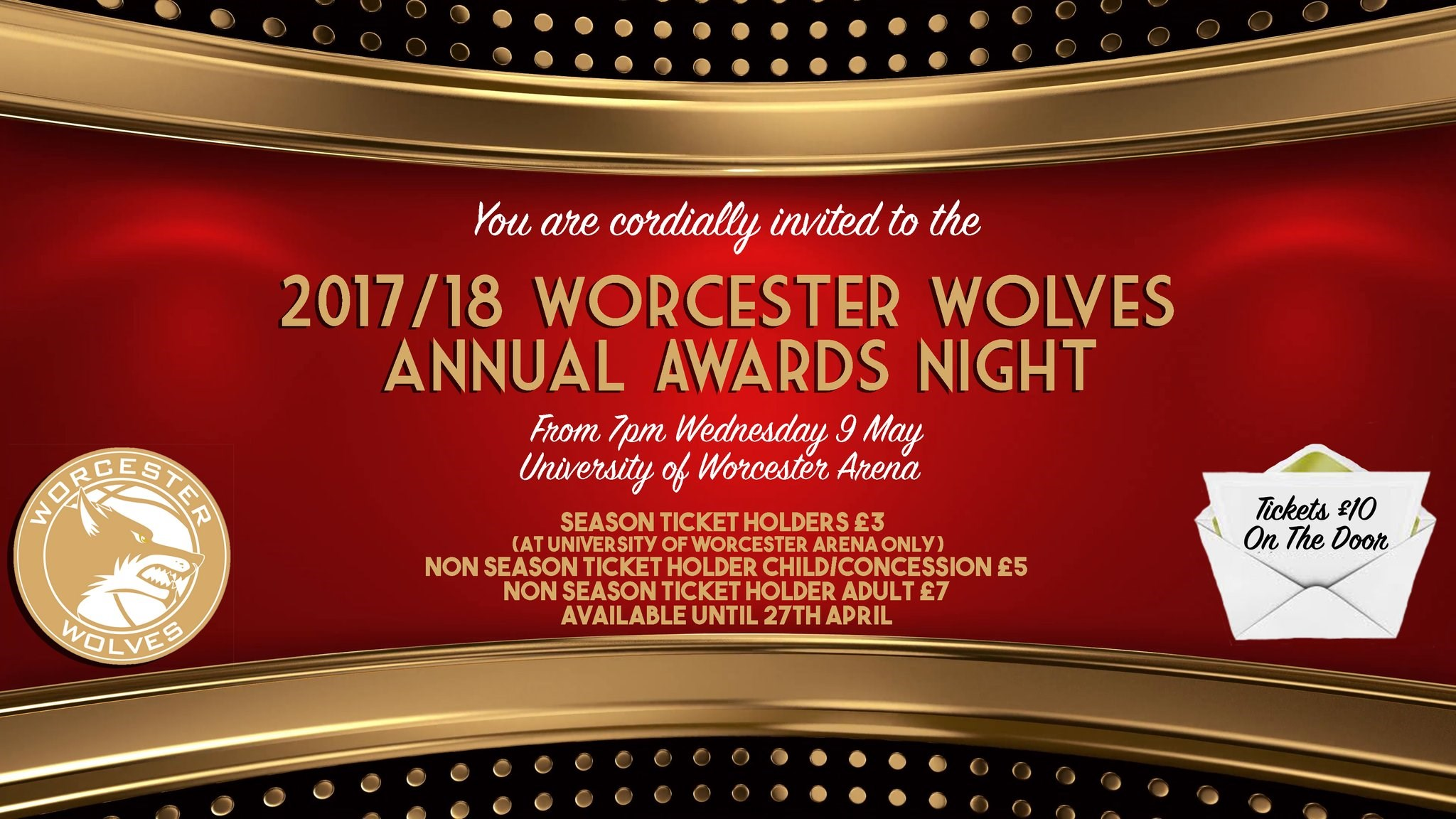 Worcester Wolves 2018 Awards Night